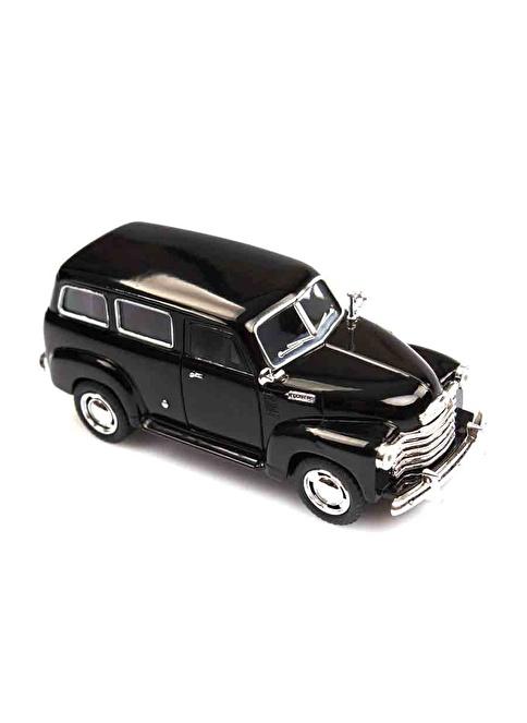 Kinsmart  1950 Chevrolet Suburban  1/36   Siyah